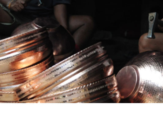 Reviving the ancient art of copper crafting in Pune
