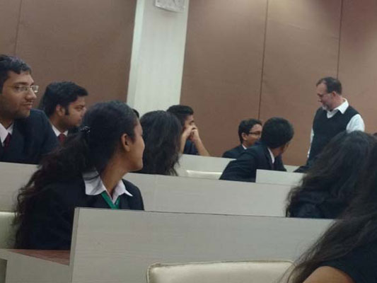 Guest lecture by Dr Patrick McNamara, Director of International Studies at University of Nebraska Omaha