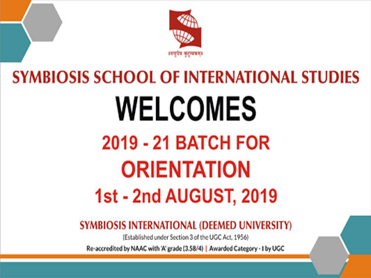 SSIS ORIENTATION 2019