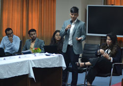workshop on 'International Negotiation and Conflict resolution'